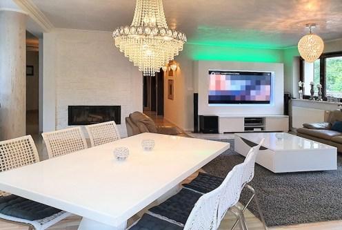 prestiżowy, nowoczesny salon w ekskluzywnym apartamencie do sprzedaży Ustroń