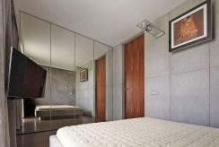zaciszna, prywatna sypialnia w luksusowym apartamencie na sprzedaż Kraków