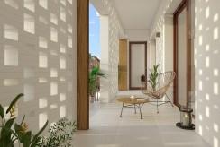 widok na taras przy luksusowym apartamencie do sprzedaży Hiszpania (Orihuel)