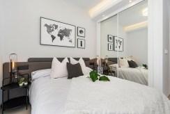 zaciszna sypialnia w ekskluzywnej willi na sprzedaż Hiszpania (Ciudad Quesad)