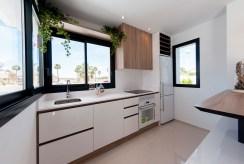 funkcjonalnie zabudowana kuchnia w ekskluzywnej willi na sprzedaż Hiszpania (Ciudad Quesad)