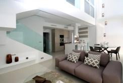 nowoczesne wnętrze luksusowej willi na sprzedaż Hiszpania (Mar Meno)