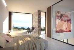prywatna i zaciszna sypialnia w luksusowej willi na sprzedaż Hiszpania (Campoamo)