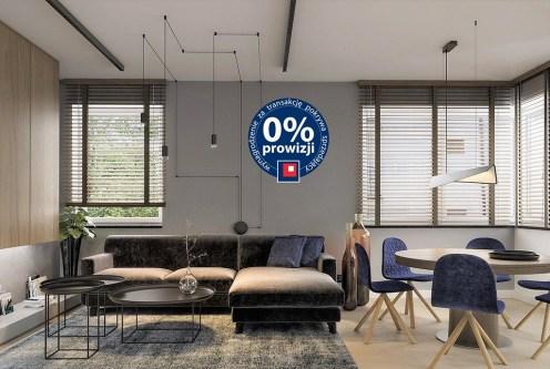 nowoczesny design salonu w ekskluzywnym apartamencie na sprzedaż Ustroń