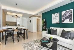przestronne wnętrze luksusowego apartamentu na sprzedaż Hiszpania (Ciudad Quesad)