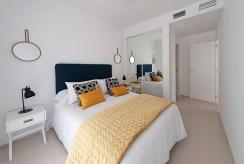 prywatna sypialnia w luksusowym apartamencie do sprzedaży Hiszpania (Ciudad Quesad)