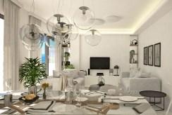 komfortowy salon w luksusowym apartamencie na sprzedaż Hiszpania (Guardamar De Segur)