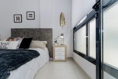 zaciszna i prywatna sypialnia w luksusowym apartamencie na sprzedaż Hiszpania (Torreviej)