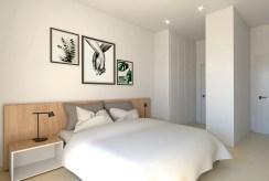 zaciszna sypialnia w luksusowej willi na sprzedaż Hiszpania (San Pedro Del Pinata)