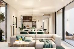 wnętrze salonu w luksusowej willi na sprzedaż Hiszpania (Mar de Cristal)