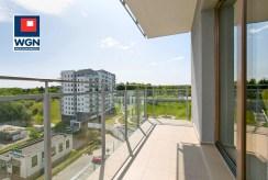 widokowy taras przy ekskluzywnym apartamencie do sprzedaży Gdańsk
