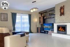 komfortowy salon w luksusowej willi na sprzedaż Katowice (okolice)