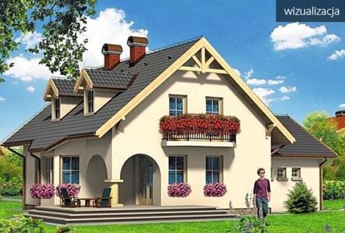 wizualizacji pokazująca ekskluzywną willę na sprzedaż Częstochowa (okolice)