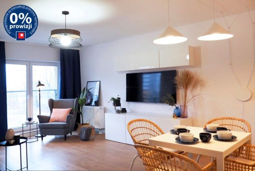 prestiżowy i nowoczesny salon w ekskluzywnym apartamencie do wynajęcia Wrocław