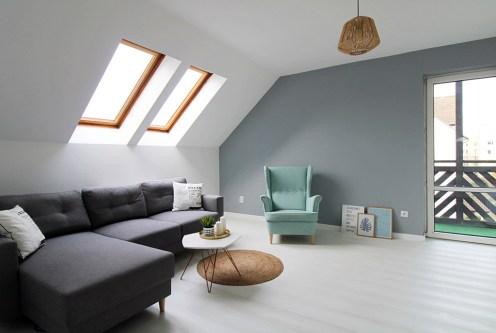 stylowe wnętrze salonu w ekskluzywnym apartamencie do sprzedaży Gorzów Wielkopolski