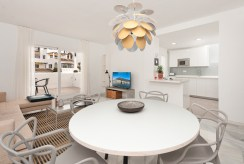 komfortowe i prestiżowe wnętrze ekskluzywnego apartamentu na sprzedaż Hiszpania