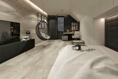 elegancka sypialnia w ekskluzywnej willi na sprzedaż Częstochowa