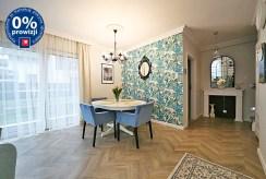 zbliżenie na salon w luksusowym apartamencie na sprzedaż Wrocław (okolice)