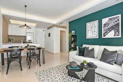 komfortowe wnętrze ekskluzywnego apartamentu do sprzedaży Hiszpania