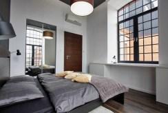 zaciszna sypialnia w ekskluzywnym apartamencie na wynajem Łódź