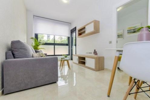 nowoczesne wnętrze w ekskluzywnym apartamencie do sprzedaży Hiszpania (Costa Blanca, Torrevieja)