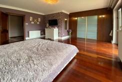 elegancka sypialnia w ekskluzywnej willi na sprzedaż Inowrocław