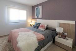 komfortowa sypialnia w ekskluzywnej willi do sprzedaży Hiszpania (Costa Almeria, Pulpi)