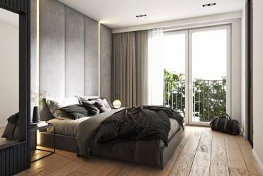 prywatna sypialnia w luksusowej willi do sprzedaży Szczecin