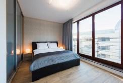 prywatna sypialnia w ekskluzywnym apartamencie na wynajem Wrocław