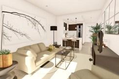 ekskluzywny pokój dzienny w luksusowym apartamencie na sprzedaż Hiszpania (Manilva, Malaga)