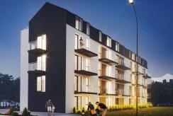 na zdjęciu apartamentowiec, w którrym znajduje się oferowany na sprzedaż ekskluzywny apartament Lublin