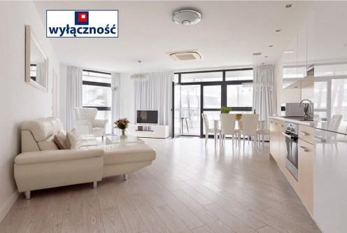 imponujące rozmachem wnętrze luksusowego apartamentu do sprzedaży nad morzem