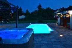 prywatny basen przy ekskluzywnej willi do sprzedaży Katowice (okolice)