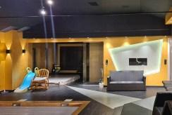 zaprojektowane zgodnie z najnowszymi trendami pomieszczenie w luksusowej willi na sprzedaż Bolesławiec (okolice)