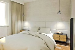 prywatna sypialnia w ekskluzywnym apartamencie na sprzedaż Ostrów Wielkopolski