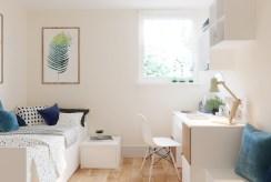 stylowo urządzony pokój w luksusowym apartamencie do sprzedaży Ustroń