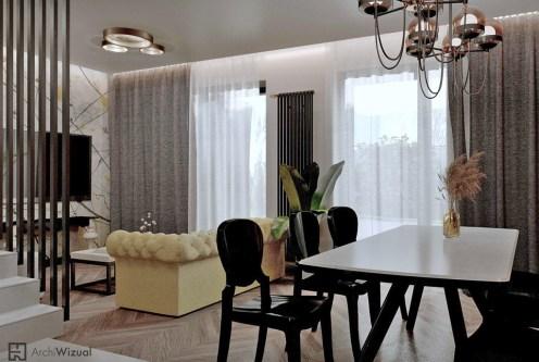 kameralny salon w ekskluzywnym apartamencie do sprzedaży Tarnów