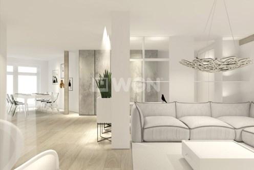 jasne i widne pokoje w luksusowym apartamencie do sprzedaży w Szczecinie