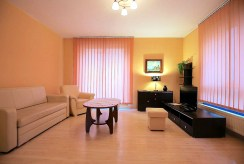zbliżenie na pokój gościnny w luksusiowym apartamencie do wynajmu Szczecin