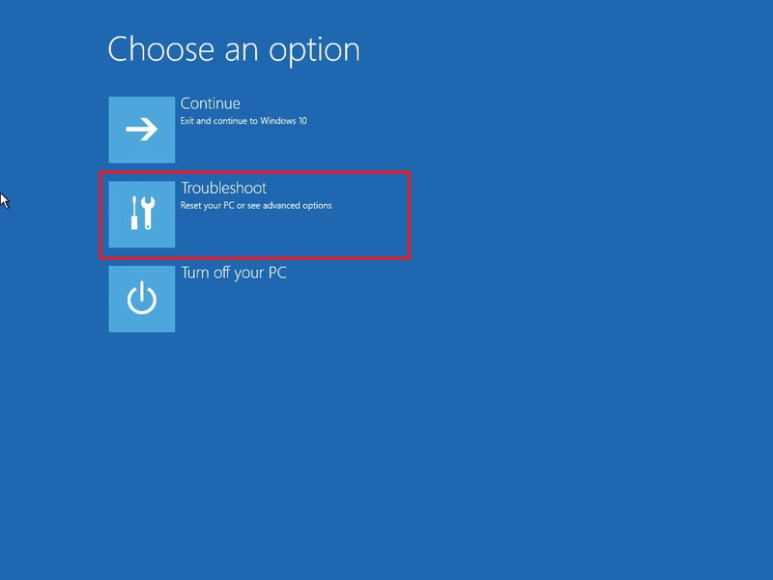 Cara mengatasi black screen windows 10