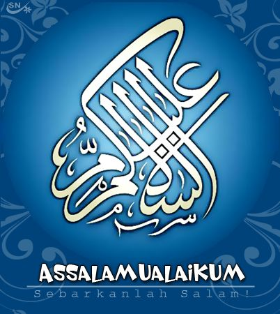 Tulisan Arab Assalamualaikum Dan Waalaikumsalam Lengkap
