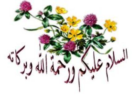 tulisan arab assalamualaikum