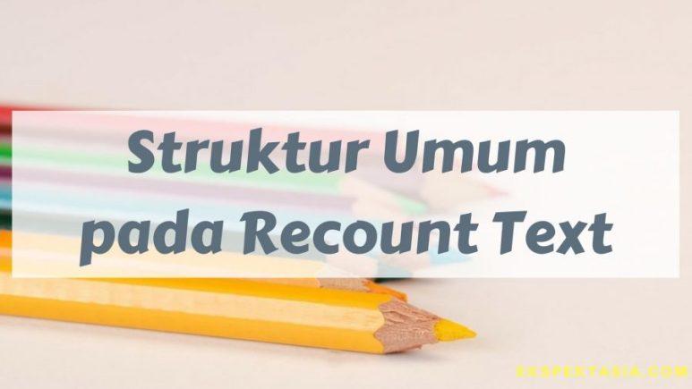 Contoh Recount Text Pendek