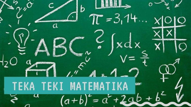teka teki lucu matematika