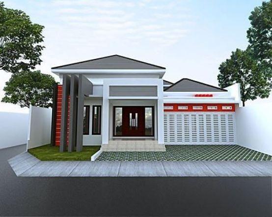 Kombinasi Warna Cat Rumah Biru Tampak Depan  a 99 kombinasi warna cat rumah minimalis kece terbaru