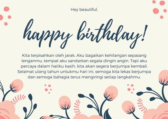 ucapan selamat ulang tahun mantap