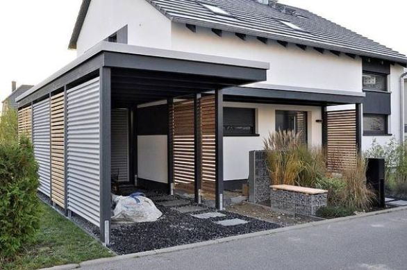 teras rumah minimalis sederhana sip