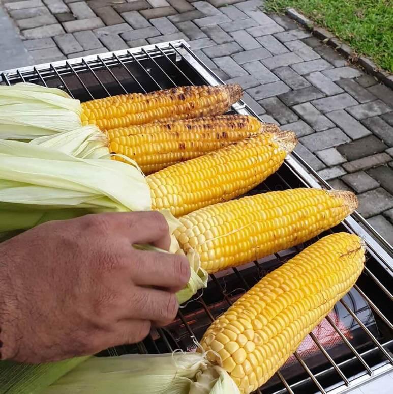 resep jagung bakar manis