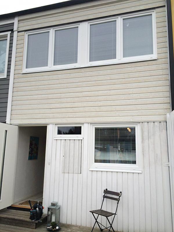 PVC fönster från Ekstrands