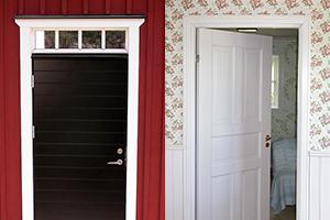 Nya dörrar hos kund i Täby